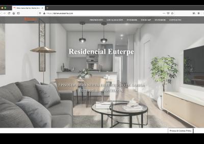 web residencial Euterpe